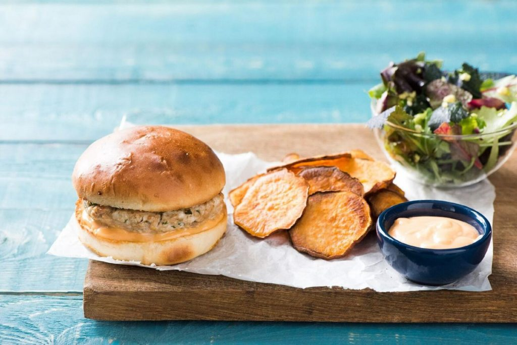 best burgers-sriracha-turkey-burgers-HelloFresh