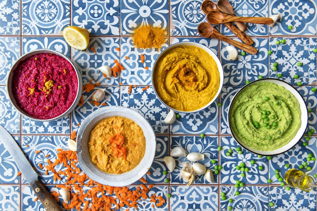 what to eat with hummus-HelloFresh