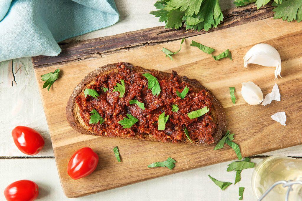 toast toppings-sun-dried-tomato-HelloFresh