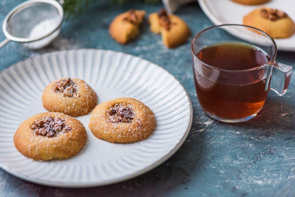 holiday cookie recipes-HelloFresh-orange-walnut
