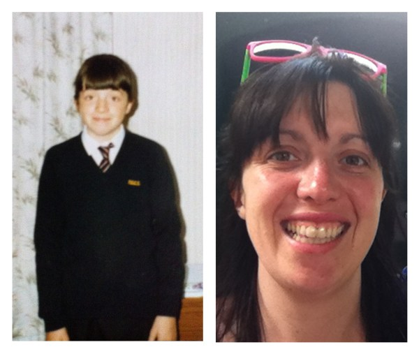 First day of school and last year in Scarbrough