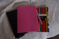 my new journal (pink one)