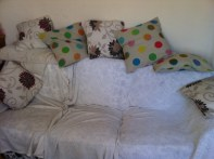 now why didn't I think of that sooner. I can get more cushions!!