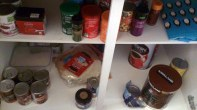 A well stocked cupboard