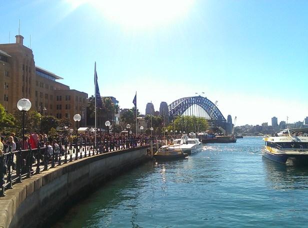 At Circular Quay