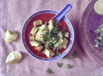 Spicy Tomato and Bean Soup