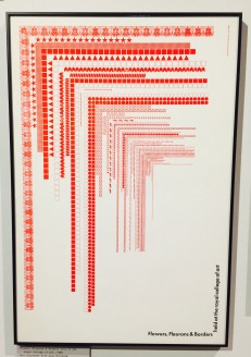 Alan Kitching print using typographical elements