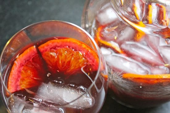 Best Red Wine Sangria   HelloGlow.co