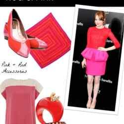 Red & Pink Fashion Picks