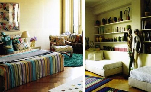 peak into missoni's milan home