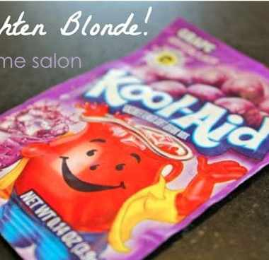 How to: Brighten Blonde with Kool Aid