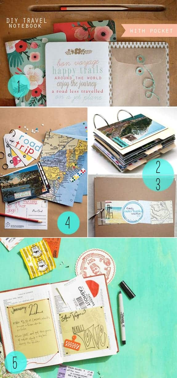 5 DIY Journals for Travelers | HelloGlow.co