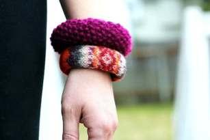 sweater bracelet