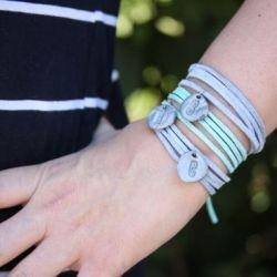 DIY Clay Charm Bracelet