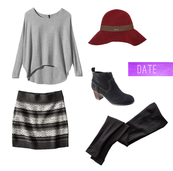 How to layer for date