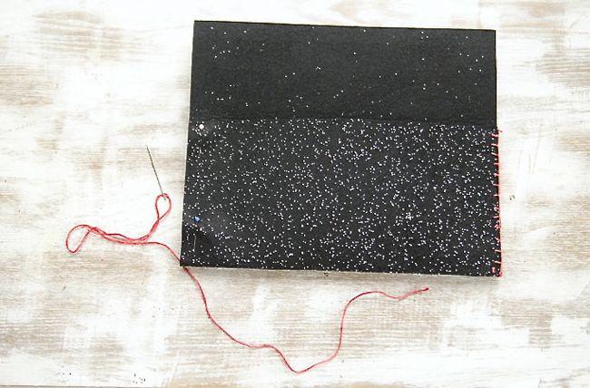 Glitter pouch