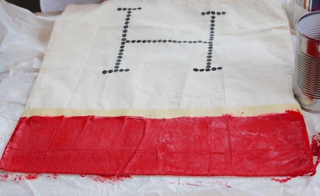 diy tote bag with plasti dip