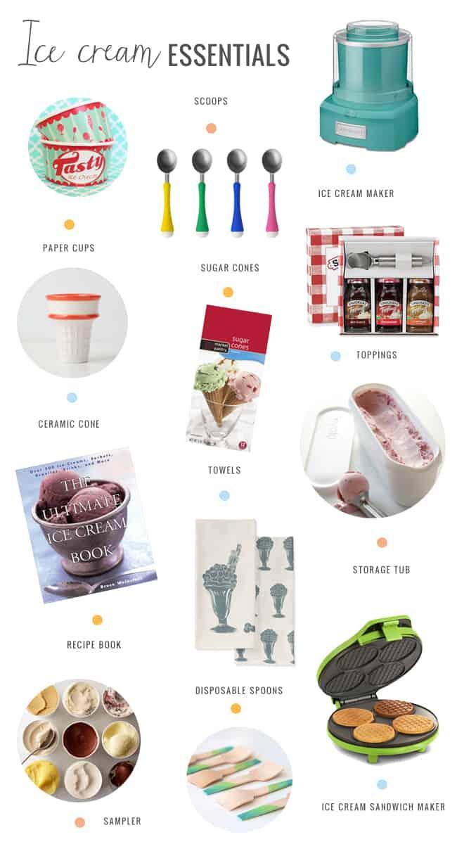 Ice Cream Essentials | Hello Glow