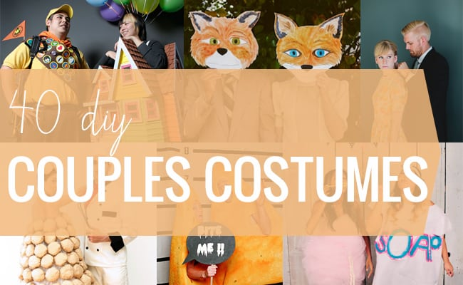 40 DIY Couple Costumes | HelloGlow.co
