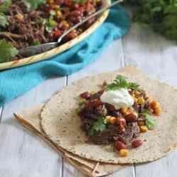 5-Ingredient Crockpot Beef Fajitas Recipe