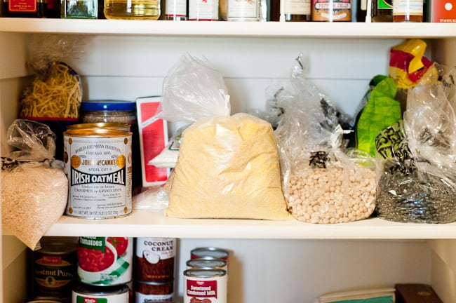 thanksgiving kitchen - pantry