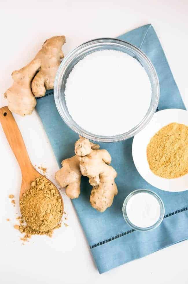 Ginger Detox Bath + Scrub | HelloGlow.co
