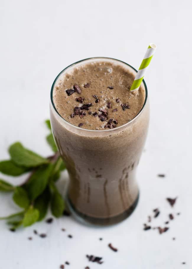 chocolate shamrock shake