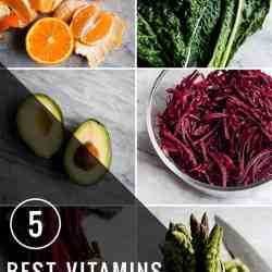 The 5 Best Vitamins For Beautiful Skin