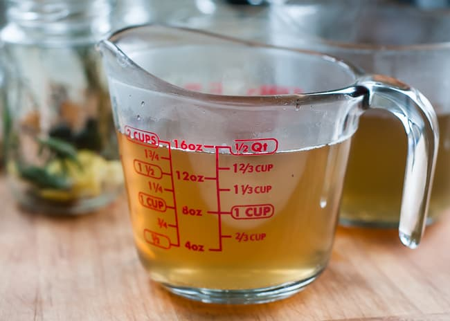 DIY flavored simple syrups_