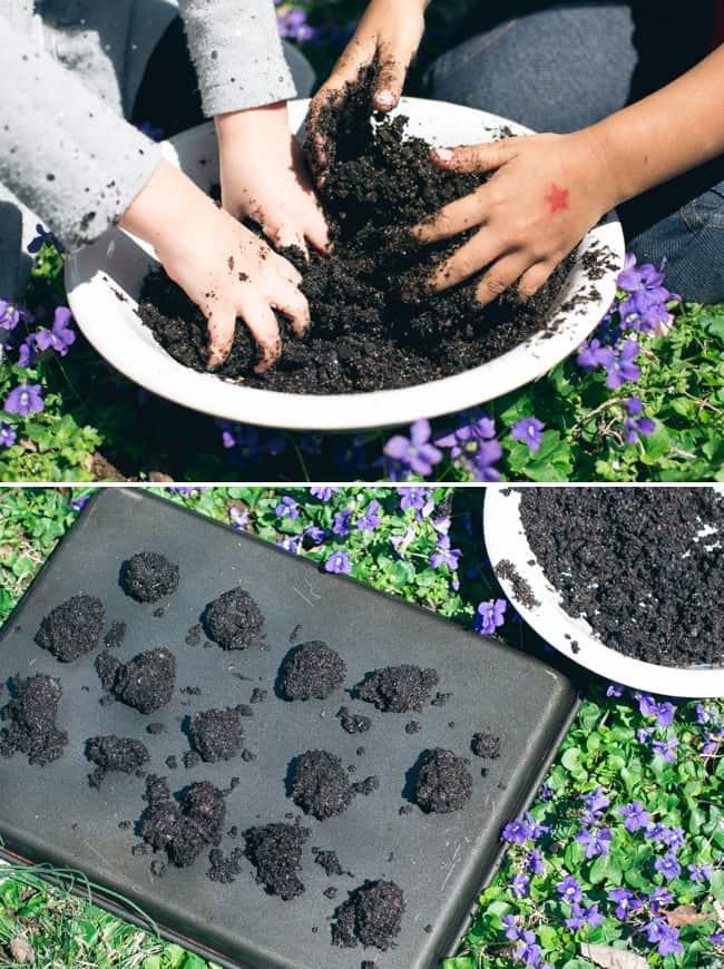 DIY Wildflower Seed Bombs | HelloGlow.co
