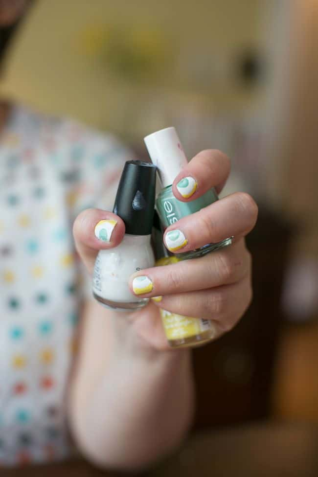 2 Polka Dot Nails for Summer | Hello Glow