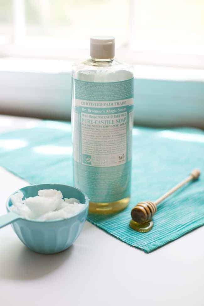 Bagnoschiuma naturale miele e olio di cocco
