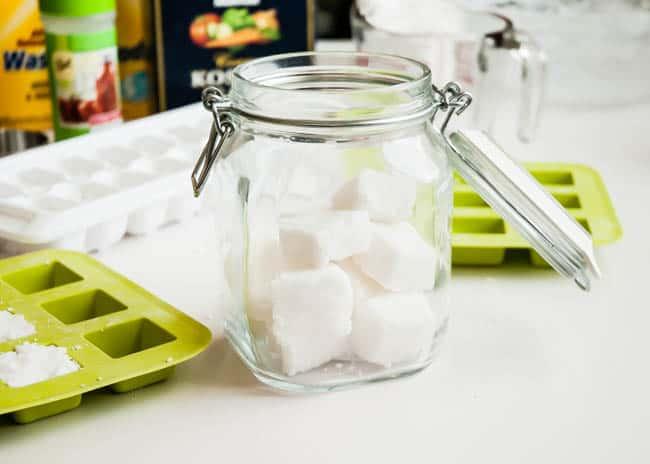 DIY Natural Dishwasher Detergent Tablets | HelloGlow.co