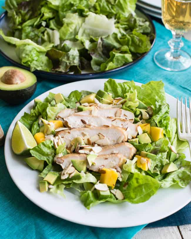 Jalapeno Lime Chicken Salad | 101 Healthy Lunches