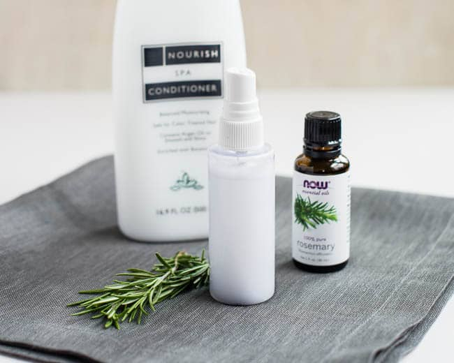 DIY Detangling Spray with Rosemary | Hello Glow
