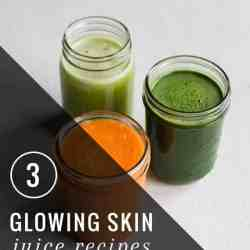 3 Juice Recipes for Great Skin