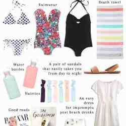 14 Essential Items to Pack in Your Beach Bag