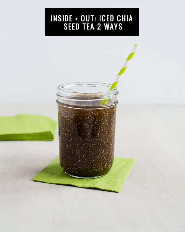 Chia Seed Green Tea - 2 Ways | HelloGlow.co