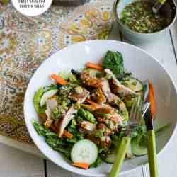 Sweet & Spicy Sriracha Chicken Salad Recipe