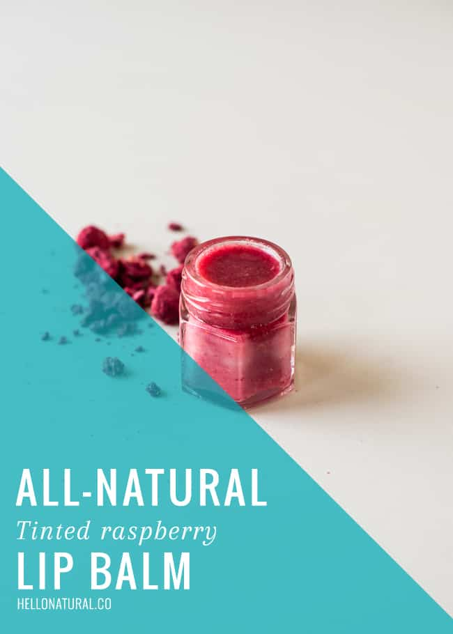 How To Make Your Own Natural Tinted Lip Balm