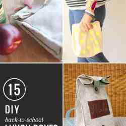 15 Back-to-School DIY Lunch Boxes and Bags