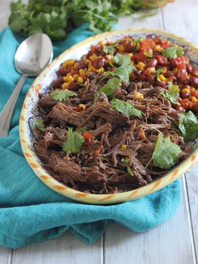 Crockpot Beef Fajitas | HelloGlow.co