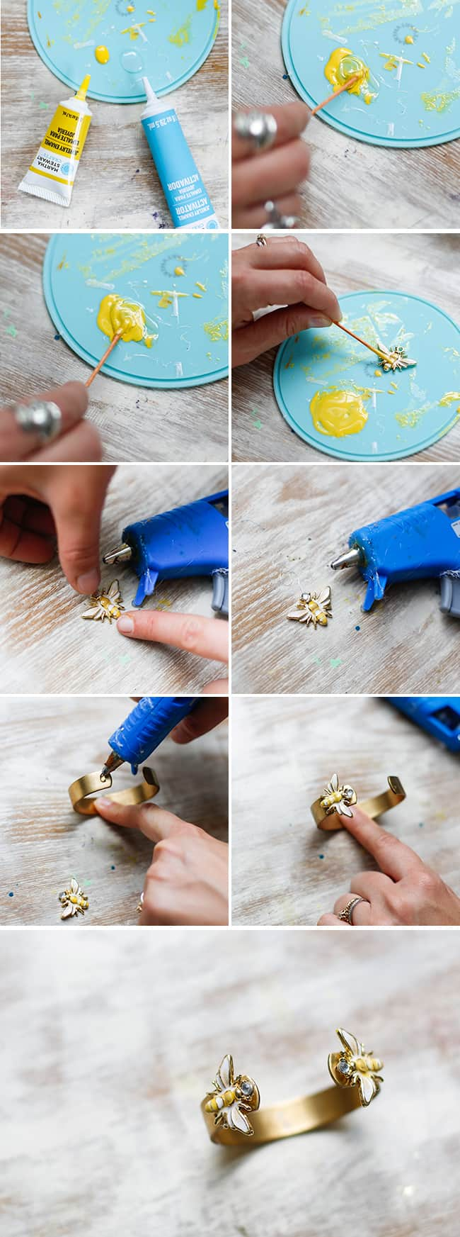 Make Your Own Trendy Bee Cuff