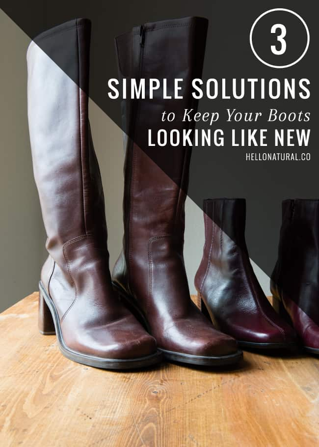3 Simple DIY Solutions for Winter Boot Care | HelloGlow.co