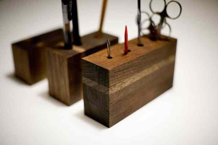 Handmade storage blocks | 15 Clever DIY Makeup Storage + Organization Ideas