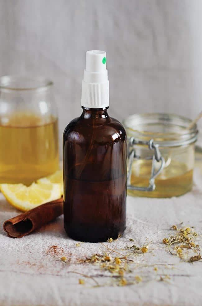 Diy Hair Lightening Spray With Honey Lemon Hello Glow
