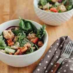 Summer Panzanella Salad Recipe