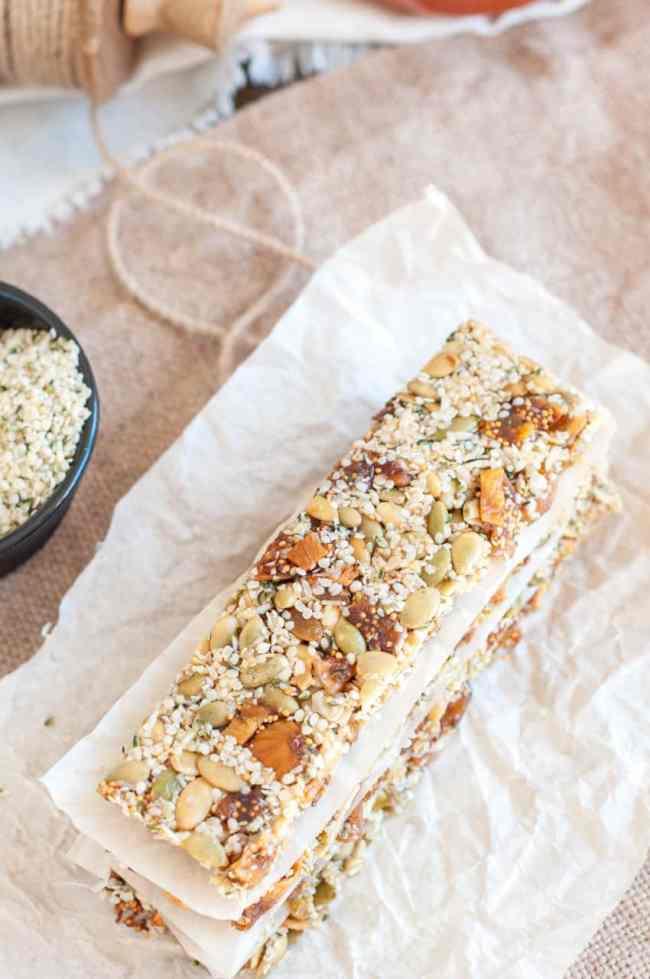 No Bake Energy Bars by Gastro Senses | 25 Healthy Energy Bar Recipes
