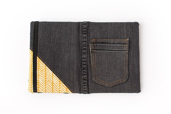 Recycled Jean DIY E-Reader Cover