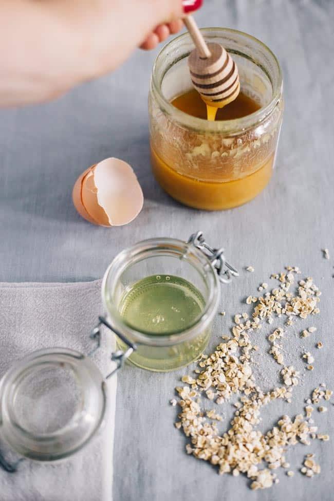Egg White Honey Mask | 3 Oily Skin Masks